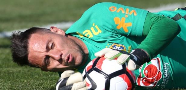 Diego Alves tem como objetivo principal disputar a Copa do Mundo de 2018 pelo Brasil