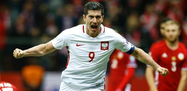Lewandowski definiu vitória improvável da Polônia nesta terça-feira