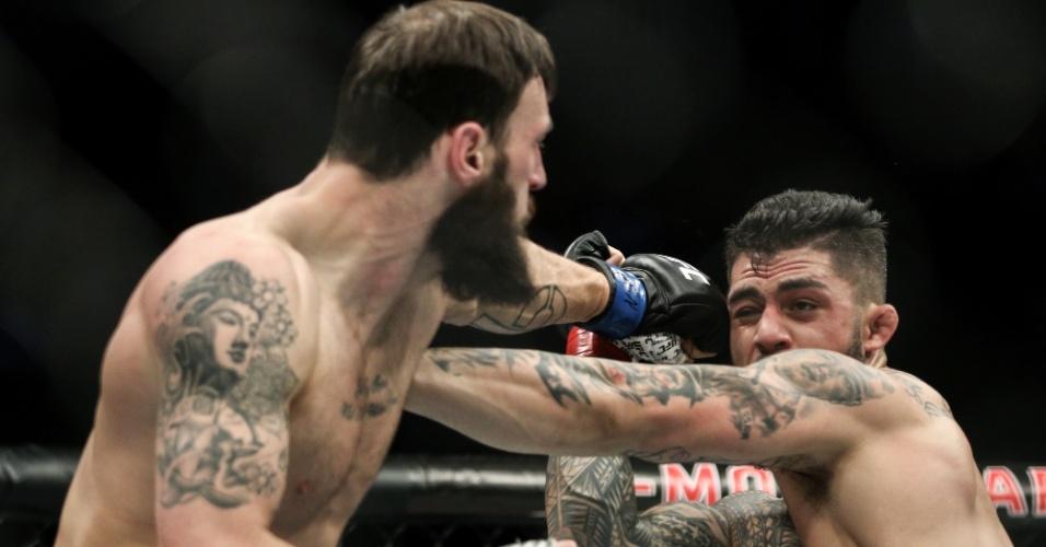 Australiano yson Pedro enfrenta escocês Paul Craig