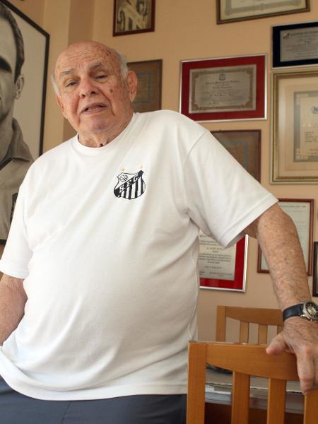 Ex-ponta Pepe, lenda do Santos e bicampeão mundial com a seleção brasileira - Luiz Carlos Murauskas/Folhapress