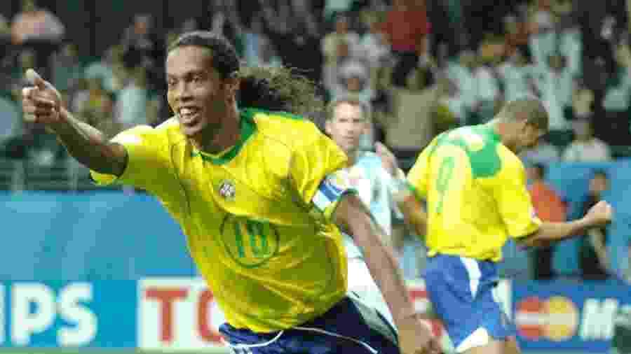 Na época, Ronaldinho Gaúcho era considerado o melhor jogador do mundo - EFE