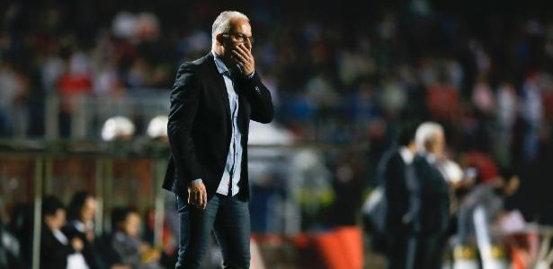 Contra o Vasco, Dorival Júnior fará o terceiro jogo como técnico do Tricolor
