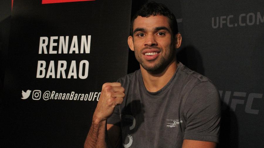 Renan Barão no media day do UFC 214 - Diego Ribas/Ag. Fight