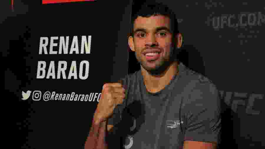 Renan Barão no media day do UFC 214 - Diego Ribas/Ag. Fight