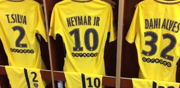 Camisa 10 de Neymar é a mais vendida do PSG desde sua chegada