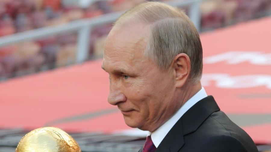 Putin foi defendido novamente em relação às acusações de doping - Michael Klimentyev/AFP