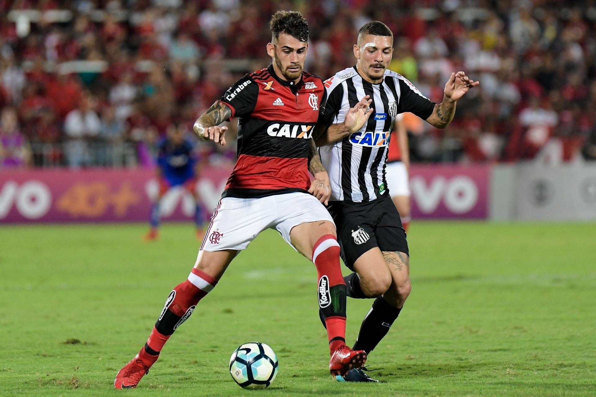 Santos bate Fla com erros de Muralha e vai à fase de grupos da Libertadores  - 26 11 2017 - UOL Esporte a5d581b1012a7