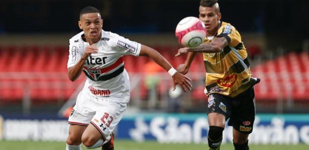 Marcos Guilherme jogou as duas partidas do São Paulo até aqui em 2018