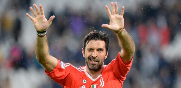 Gianluigi Buffon se despediu da Juventus em maio deste ano