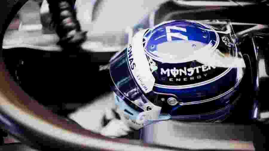 Reconheceu o capacete da foto? É o de Valtteri Bottas, que mudou o desenho para a corrida em Monte Carlo - @ValtteriBottas/Twitter