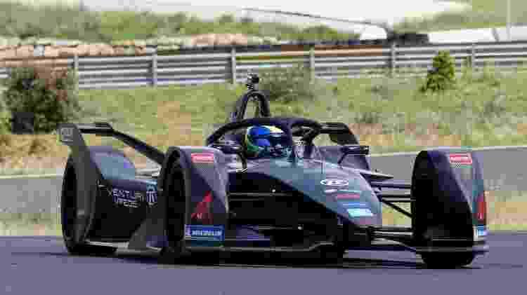 Massa dentro do carro da Venturi - @VenturiGP/Twitter - @VenturiGP/Twitter