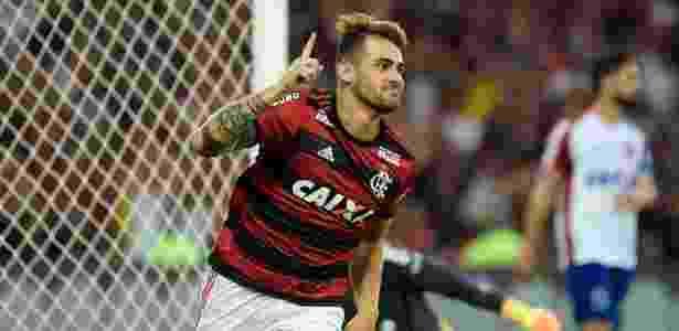 Felipe Vizeu é o centroavante que o Grêmio espera contratar para 2019 - Thiago Ribeiro/Agif