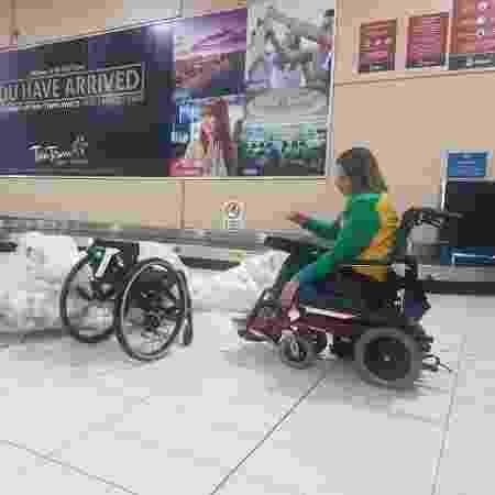 Jéssica Messali cadeira de rodas - Divulgação - Divulgação