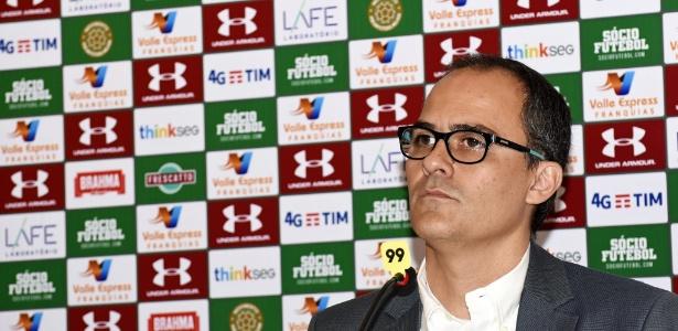 Presidente Pedro Abad tenta pagar parte restante dos salários atrasados no Flu - Mailson Santana/Fluminense
