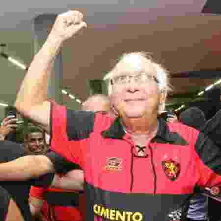 Milton Bivar, novo presidente do Sport - Williams Aguiar/Sport Club do Recife