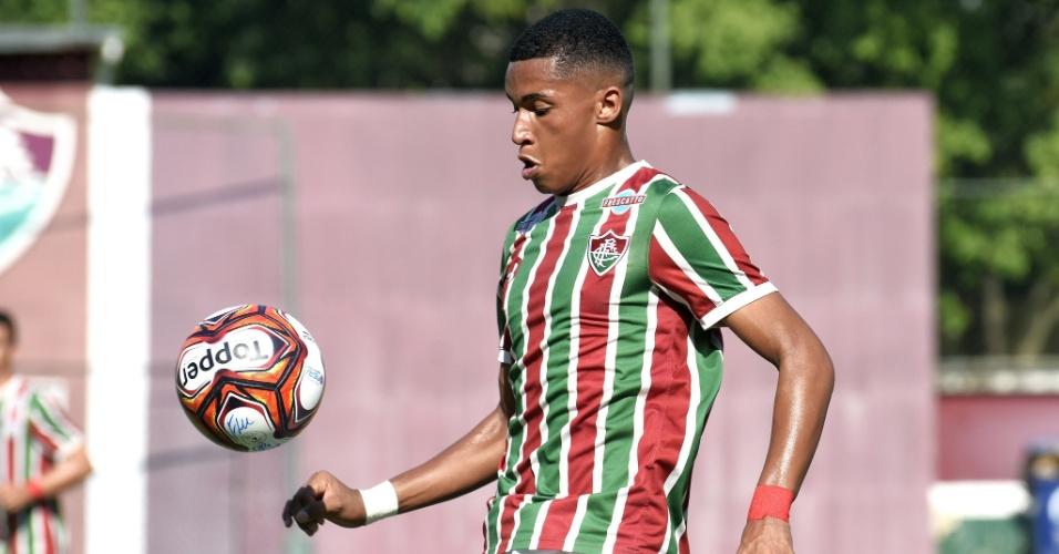 Marcos Paulo, atacante das categorias de base do Fluminense