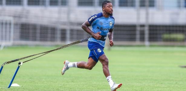 Marinho protagonizou vídeo nas férias que tirou pontos na cotação interna do Grêmio