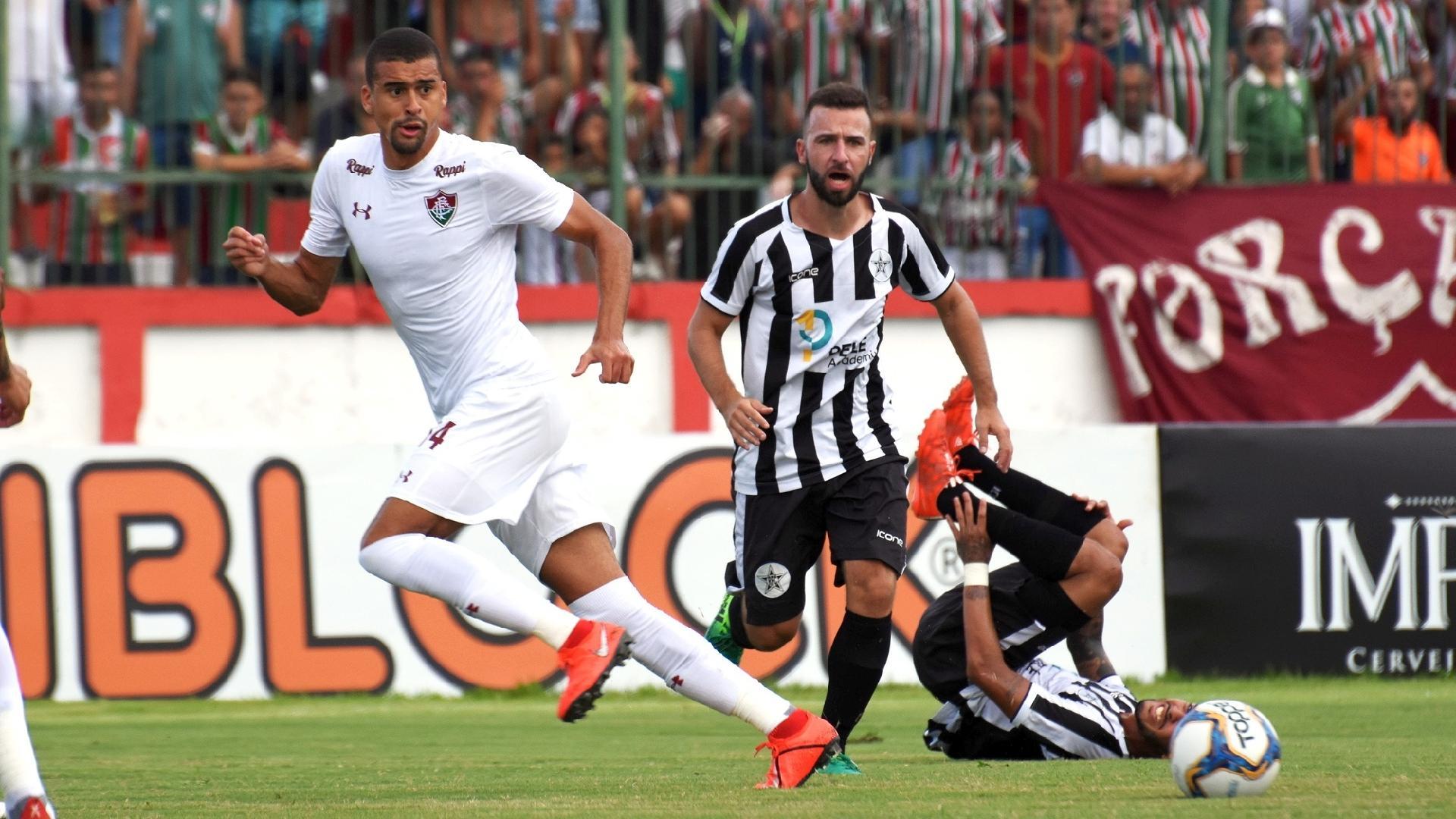 Jogo de Fluminense contra Resende