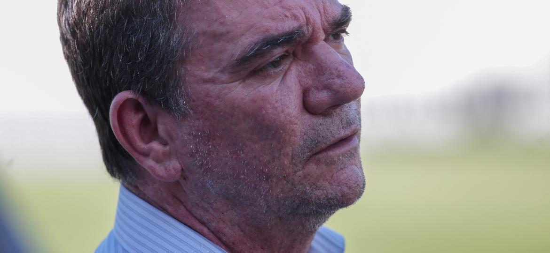 Andrés se emocionou ao falar de dores com pessoas próximas, que lhe cobraram por melhores hábitos alimentares - Marcello Zambrana/AGIF