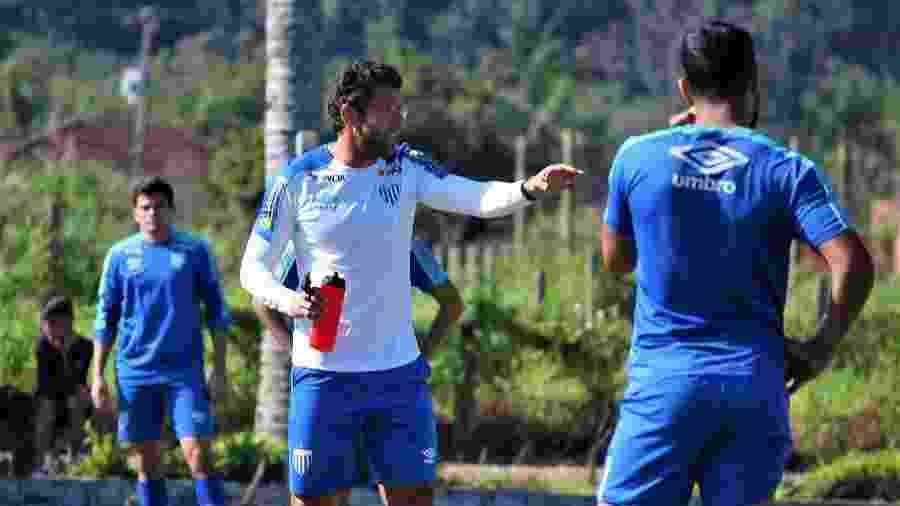Alberto Valentim, técnico do Avaí - André Palma Ribeiro/Avaí F. C.