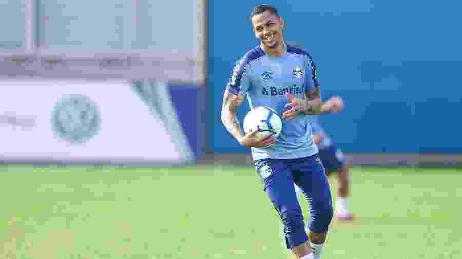 Luciano foi um dos artilheiros da Copa do Brasil, ao lado de Guerrero e Pipico - Lucas Uebel/Grêmio