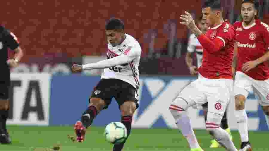 No São Paulo desde a Copa América, Raniel demora a se ambientar e tem apenas um gol - Rubens Chiri / saopaulofc.net