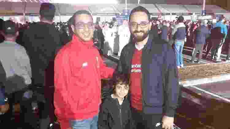 Moataz e Nasser, do Egito, marcaram presença. Eles trocaram a Juventus pelo Liverpool - Leo Burlá / UOL - Leo Burlá / UOL
