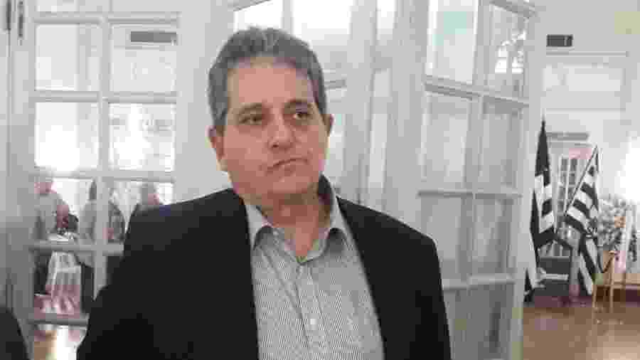 Vice-geral do Botafogo, Ricardo Rotenberg esteve no velório de Valdir Espinosa na sede de General Severiano - Alexandre Araújo / UOL Esporte