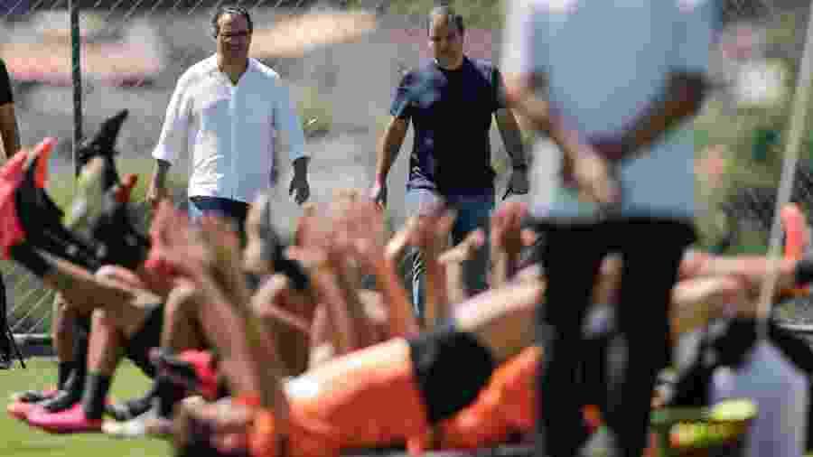 Diretoria do Atlético-MG fez acordo com o elenco para pagar valor somente em 2021 - Bruno Cantini / Agência Galo / Atlético