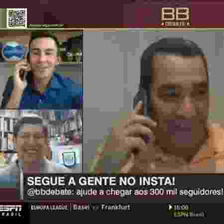 Zinho - Reprodução/ESPN - Reprodução/ESPN