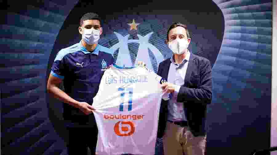 Luís Henrique é apresentado pelo Olympique de Marselha - Divulgação