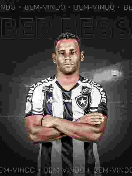 Éber Bessa é anunciado pelo Botafogo - Reprodução