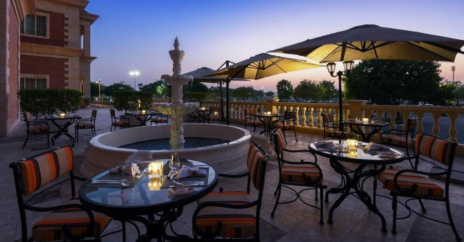 Vista externa do Al Aziziyah Boutique Hotel