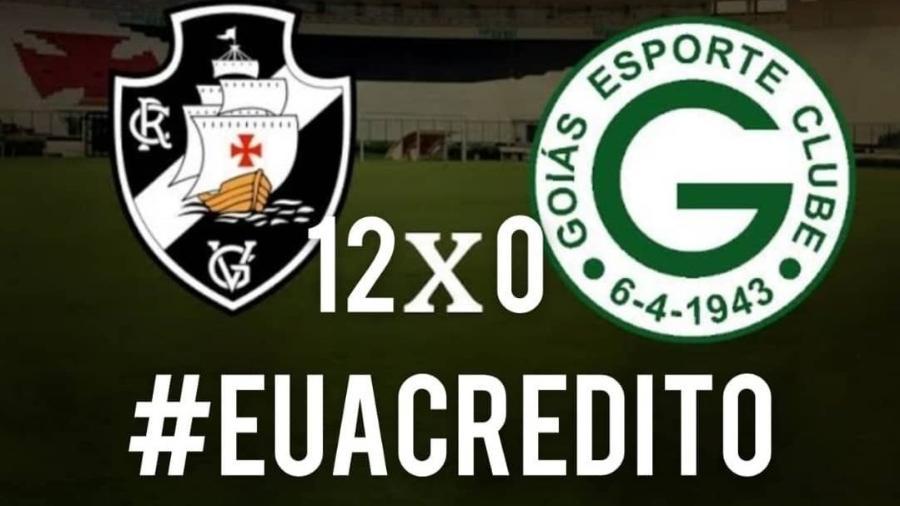 Torcedores do Vasco criam campanha nas redes em busca da permanência na série A - Reprodução/Twitter