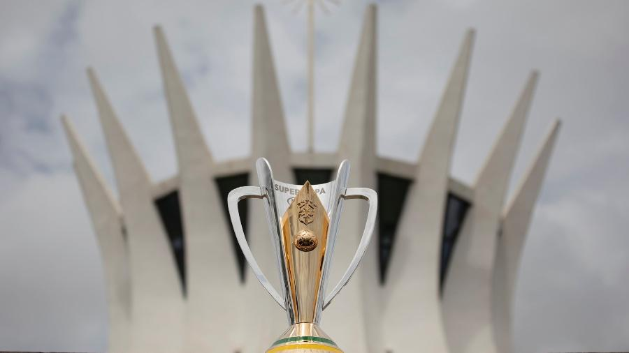 Taça da Supercopa do Brasil; decisão será no Estádio Mané Garrincha, em Brasília - Lucas Figueiredo/CBF