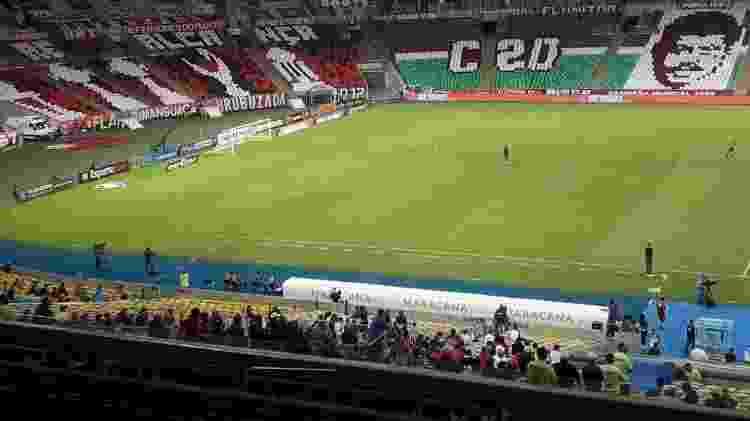 Torcida do Flamengo em final contra o Fluminense no Maracanã - Alexandre Araújo/UOL - Alexandre Araújo/UOL