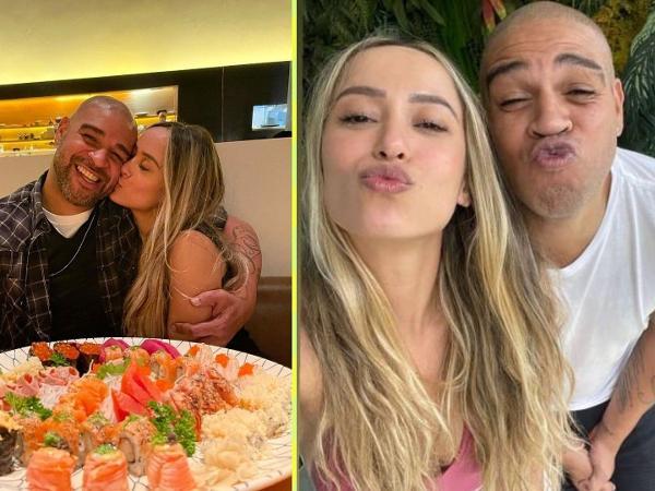 Adriano Imperador e a nova namorada: Laísa Lemos