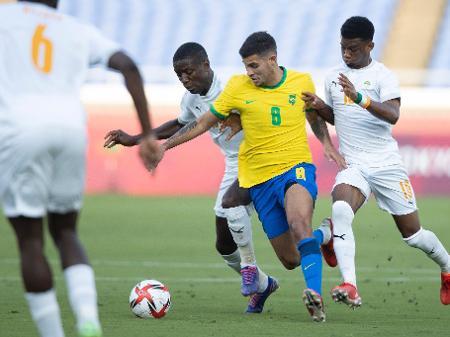 Brasil Joga 70 Minutos Com Um A Menos E So Empata Com A Costa Do Marfim 25 07 2021 Uol Olimpiadas
