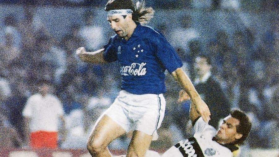 Renato Gaúcho jogou apenas três meses pelo Cruzeiro, em 1992, antes de retornar ao Flamengo - Reprodução/Internet