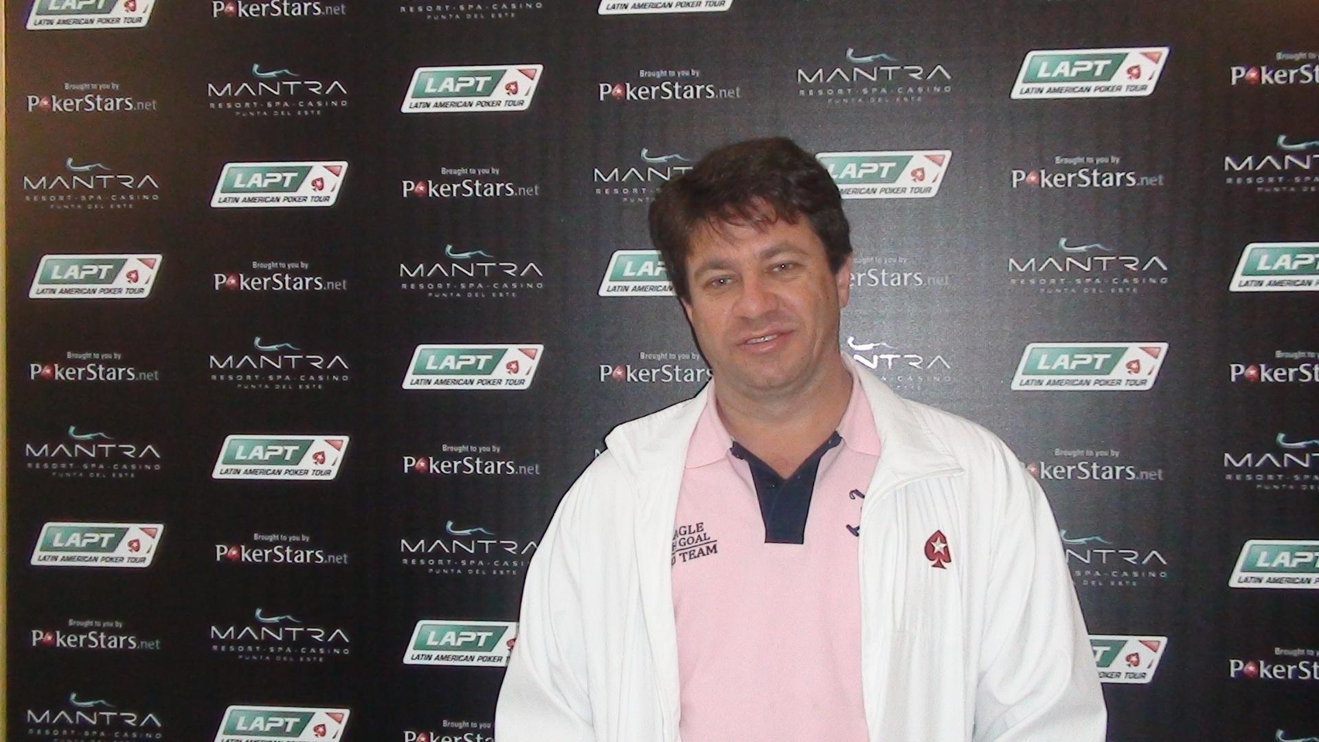Márcio Carraro gastou 33 dólares para entrar no evento de pôquer com Neymar