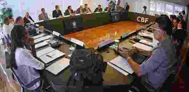 Reunião do Comitê de Reformas da CBF - Rafael Ribeiro/CBF - Rafael Ribeiro/CBF