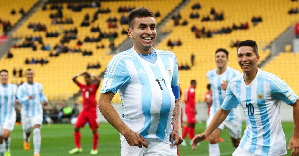 Angel Correa, da seleção sub-20 da Argentina