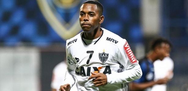 Robinho é tratado com bastante cuidado por parte da comissão técnica do Atlético-MG - Bruno Cantini/Clube Atlético Mineiro
