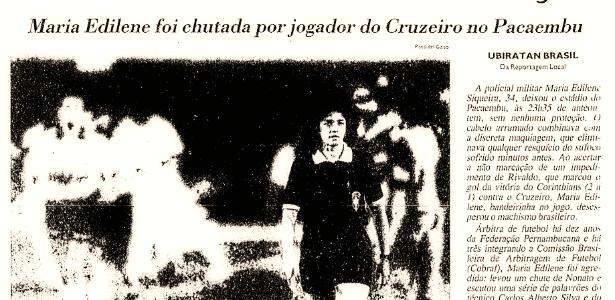Maria Edilene - Reprodução/Folha de S.Paulo - Reprodução/Folha de S.Paulo