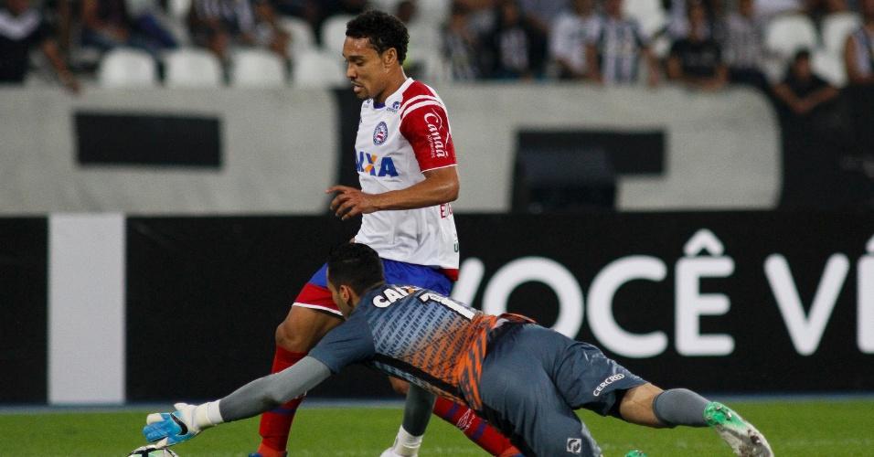 Gatito Fernandez foi o grande destaque do Botafogo contra o Bahia