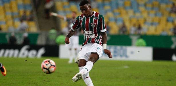 Calazans foi revelado pelo Fluminense
