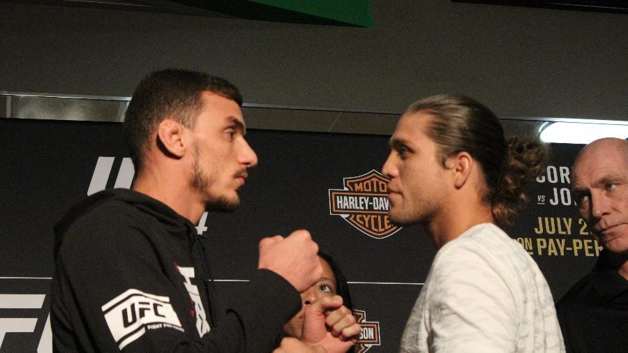 Brian Ortega preferiu cortar mais peso do que se desfazer do longo cabelo - Diego Ribas/ Ag. Fight