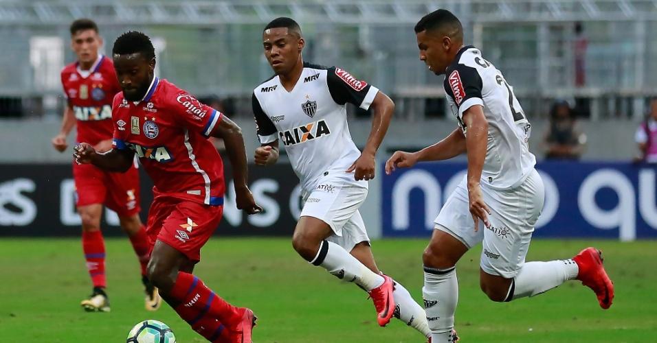 Bahia e Atlético-MG se enfrentam em Salvador