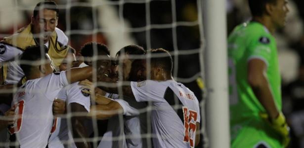 Vasco venceu Jorge Wilstermann no Rio e decidirá vaga na Bolívia na próxima quarta-feira