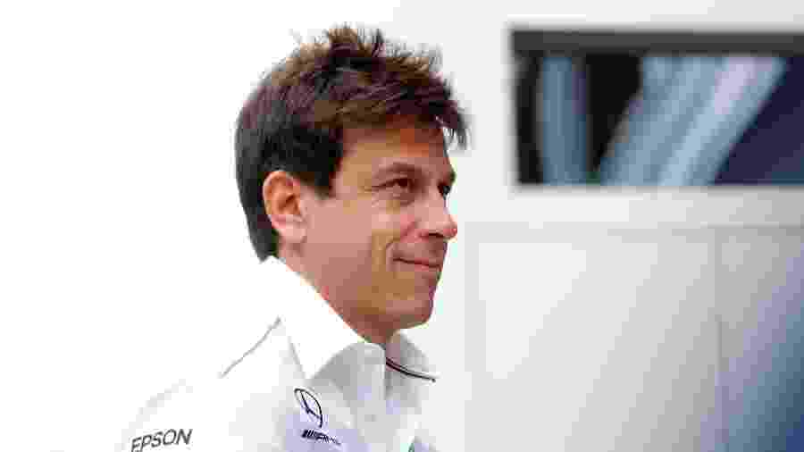 Toto Wolff, diretor-executivo da Mercedes - Maxim Shemetov/Reuters